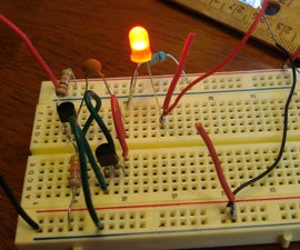 """Joule Thief"" - No IC and No Transformer"
