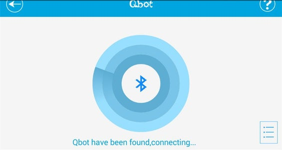 Mobile Phone APP to Control the Qbot