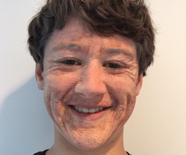 Foam Latex Old Age Makeup