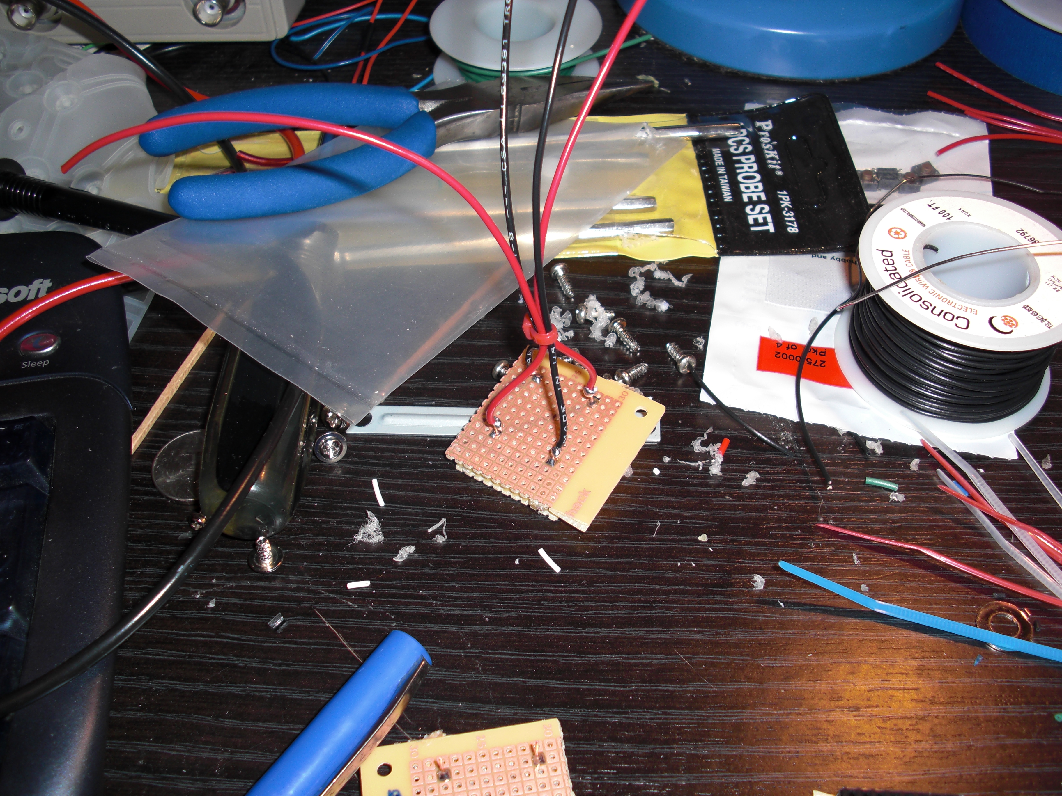 Picture of Five-cent Tilt Sensor