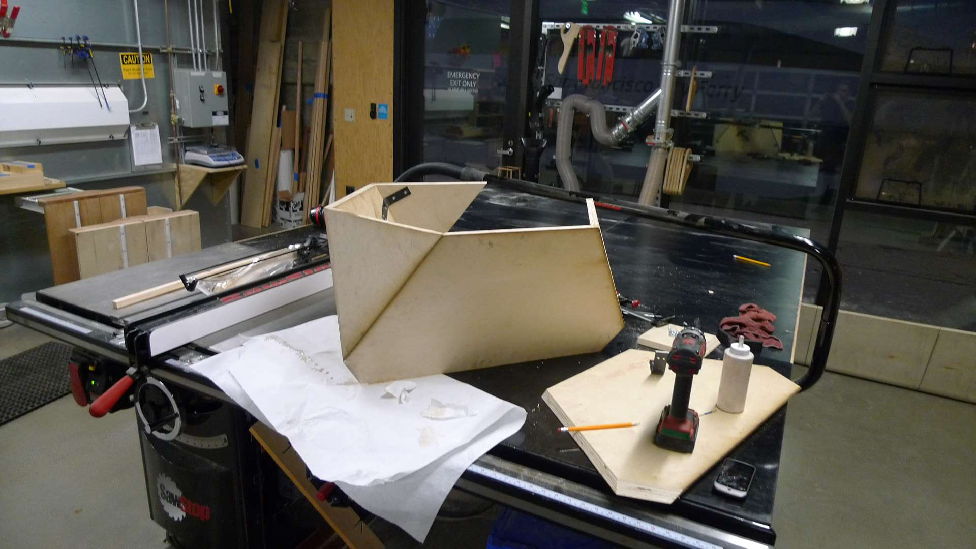 Picture of Bracketed Panel Assembly
