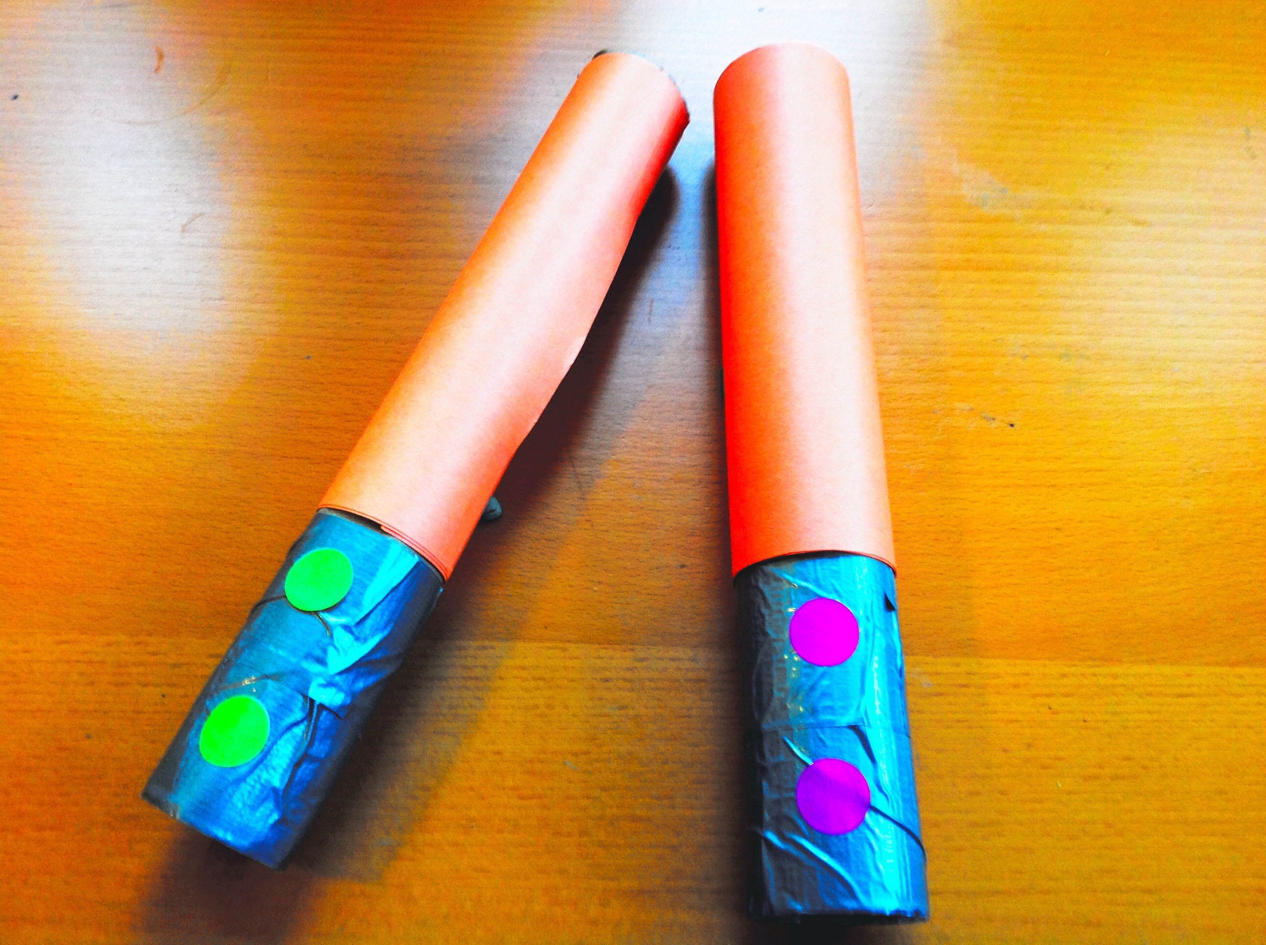 Picture of Star Wars Cardboard Light Sabers