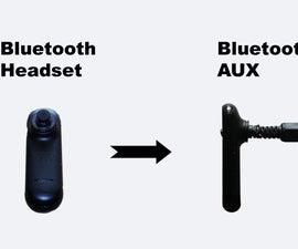 Hack Bluetooth Headset