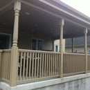 Premium deck railing from 2x4 and 2x6 construction lumber