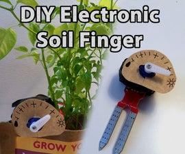 DIY Electric Soil Finger