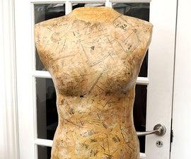 DIY Custom Dress Form | Make Your Own Decoupaged Dressmaking Aid