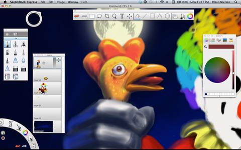 Make a Lovely Rubber Chicken
