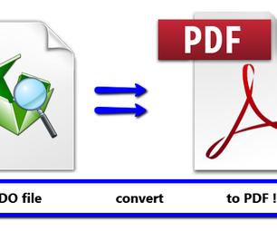 Pepakura - Convert PDO to PDF