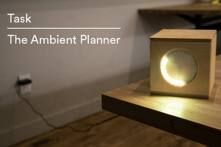 Task: the Ambient Planner