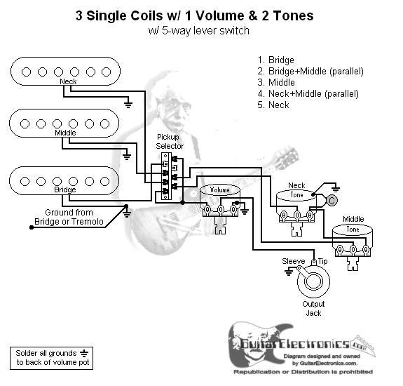 Stock Fender Stratocaster PCB: 6 Steps
