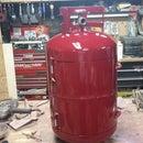 Propane Tank Tool Box