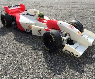 RS-01 Ayrton Senna's 1993 McLaren MP4/8 Formula 1 3D Printed RC Car