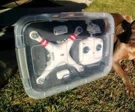 Poor Drone Owners Carrying Case