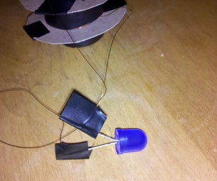 """Make Your Own Simple """"shaky"""" Generator to Light an LED"""