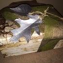 Faux Birch Bark Box