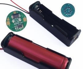 DIY Protected Lithium battery holder