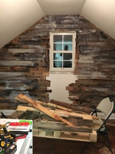Complete Pallet Wall