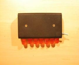 How to make a fast blinking LED bike light