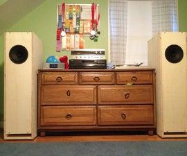 DIY Hi-Fi: WiBAQ Speakers