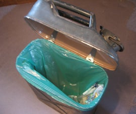 Jerry Can Trash Can