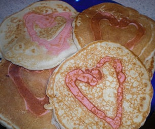 SWEET HEART PANCAKES (now With More Puns!)