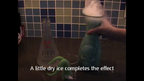 Picture of Making the Actual Beverage for Your Evil Genius