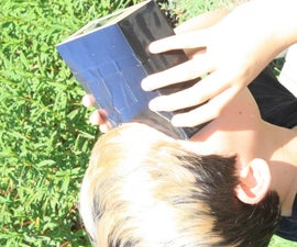 Simple, Affordable, High Quality Solar Eclipse Viewer From a Cereal Box