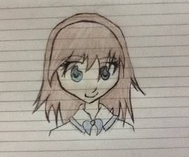 How to Draw a Basic Anime-Style Head
