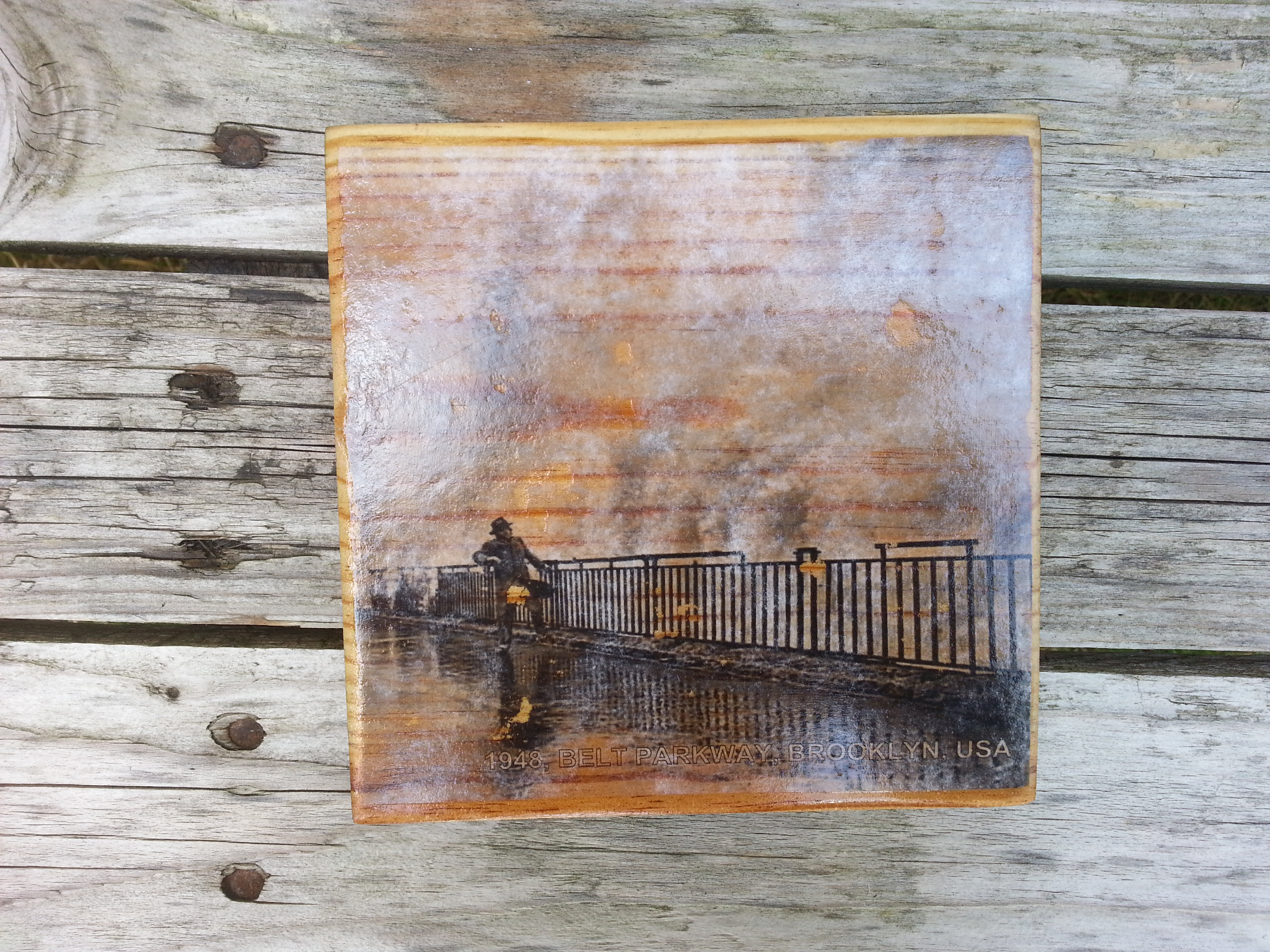 Picture of Photo Transfer on Wood