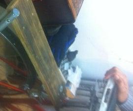 6-buck bicycle rear rack from repurposed materials