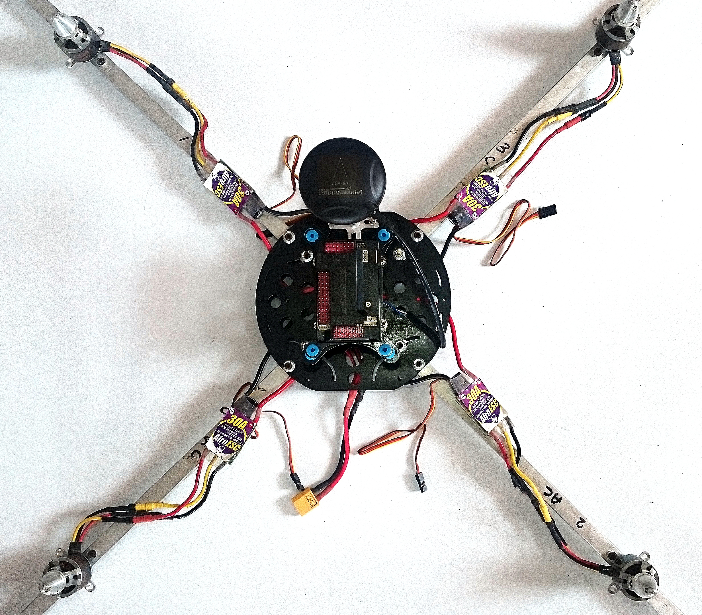 Picture of Attaching the APM Assembly and GPS Assembly to the Body
