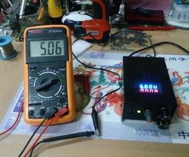 Linear Adjustable Power Supply