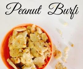 Peanut Burfi