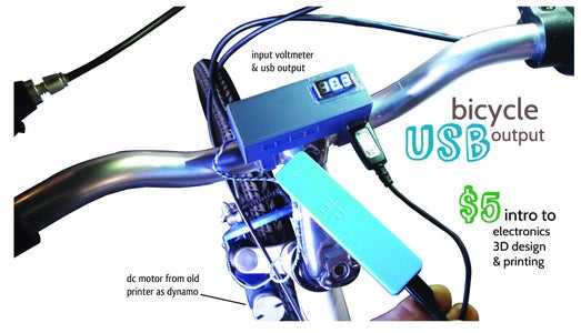 Bicycle USB Output