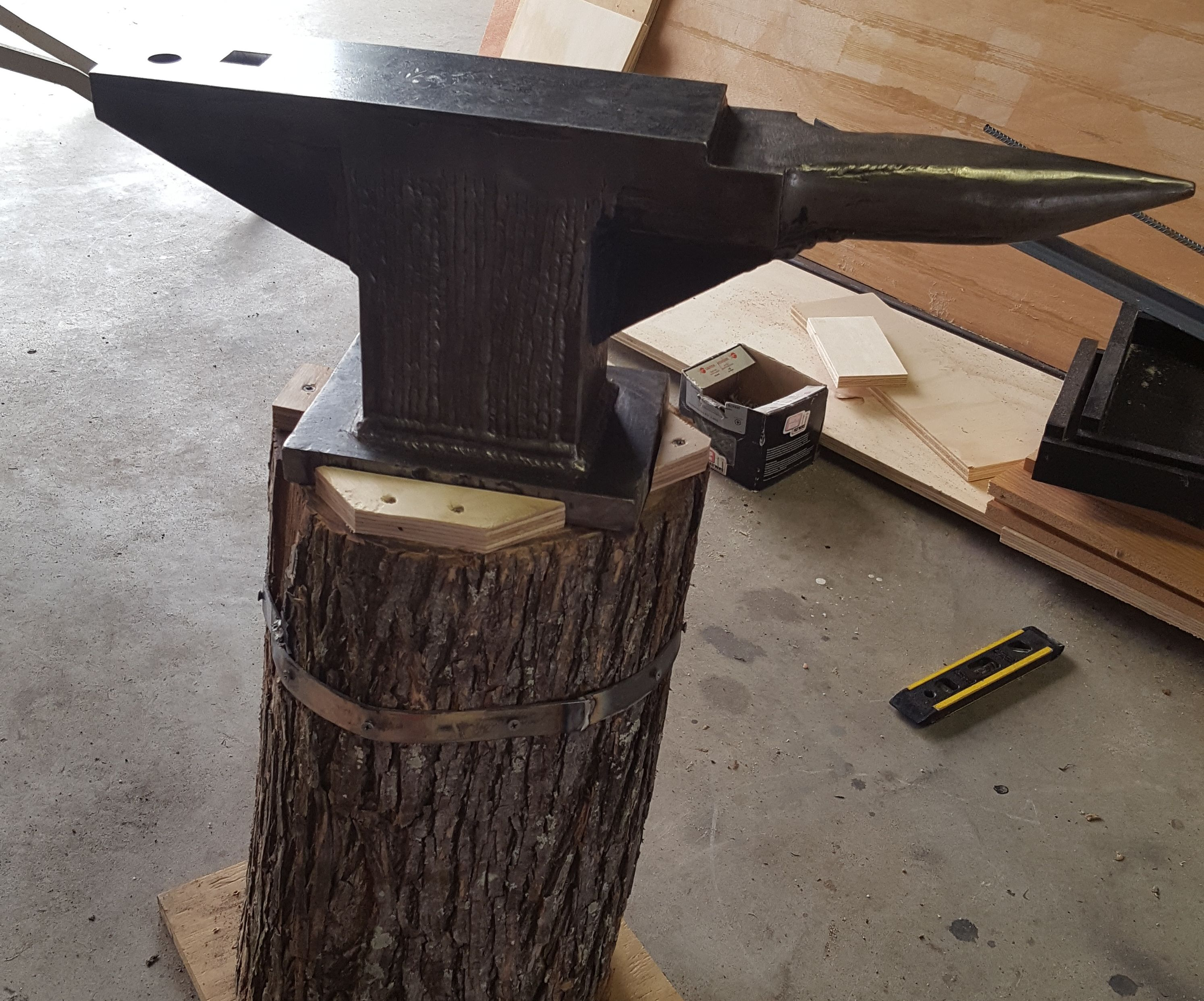 Home-made Anvil: 4 Steps (with Pictures)
