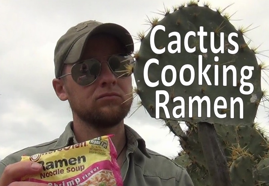 Picture of Cooking Ramen in a Cactus