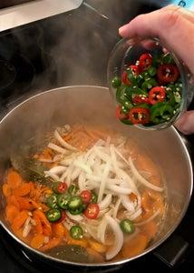 Add Onions & Jalapenos