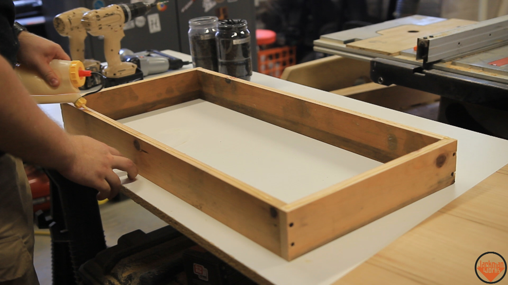Picture of Building the Small Drawers