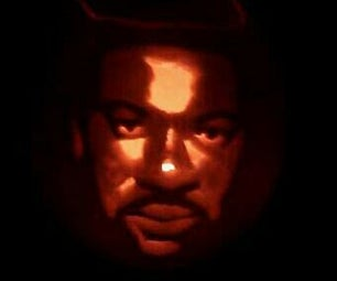 Pumpkin Creating - Lionel Richie Also Images of Peppa Pig - Nemo - Tinkerbell - Olaf - Minion
