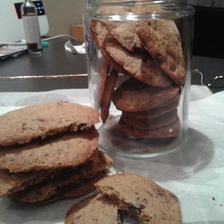 Browned Butter Sea Salt Chocolate Chip Cookies