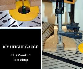 DIY Digital Height Gauge