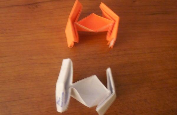 Origami Star Wars Tie Fighter (Easy) Version 1.0