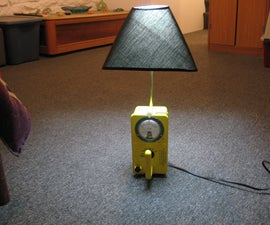 Geiger Lamp - Now with Illuminated Dial