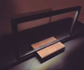 Modern/Industrial-Style Table Lamp / Desk Lamp