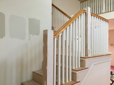 Adding the New Spindles or Balusters