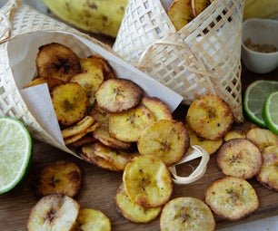 Crispy Baked Plantain Chips - 3 Delicious Flavours
