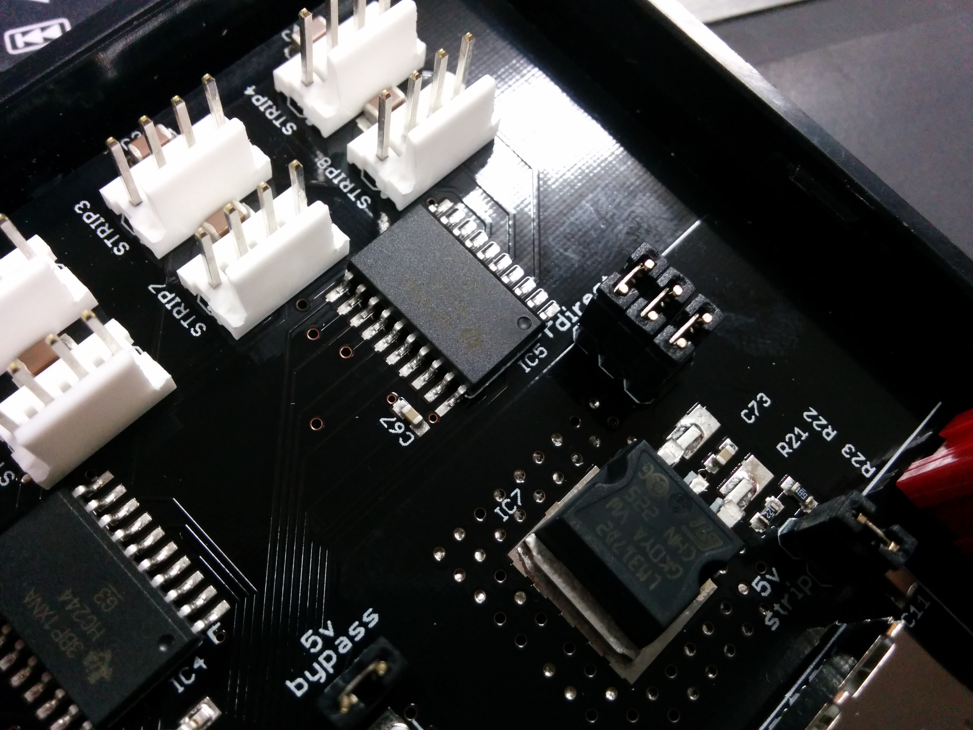 Picture of Setup the Pixel Pusher Hardware