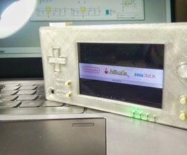 Retro-CM3: a Powerful RetroPie Handled GAME Console