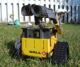 My Autonomous HomeMade Wall-E Robot