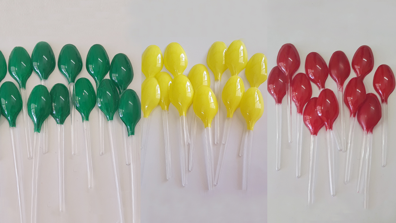 Picture of Color the Plastic Spoons
